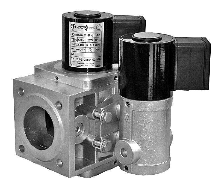 Клапан ВН 2Н-1П муф.