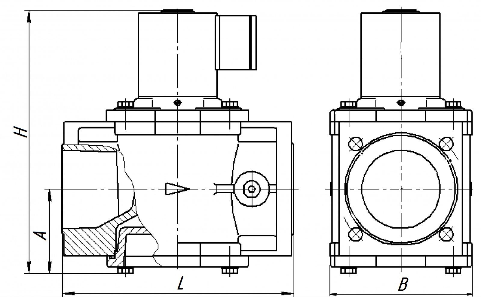 Клапан ВН 4Н-0,5