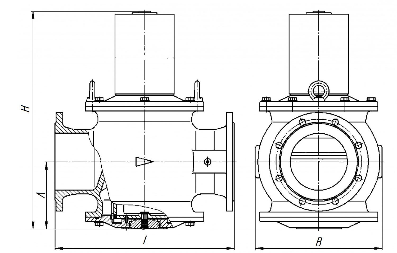 Клапан ВН6М-1В