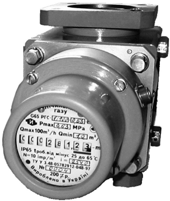 Счетчик газа  Delta G100 DN80