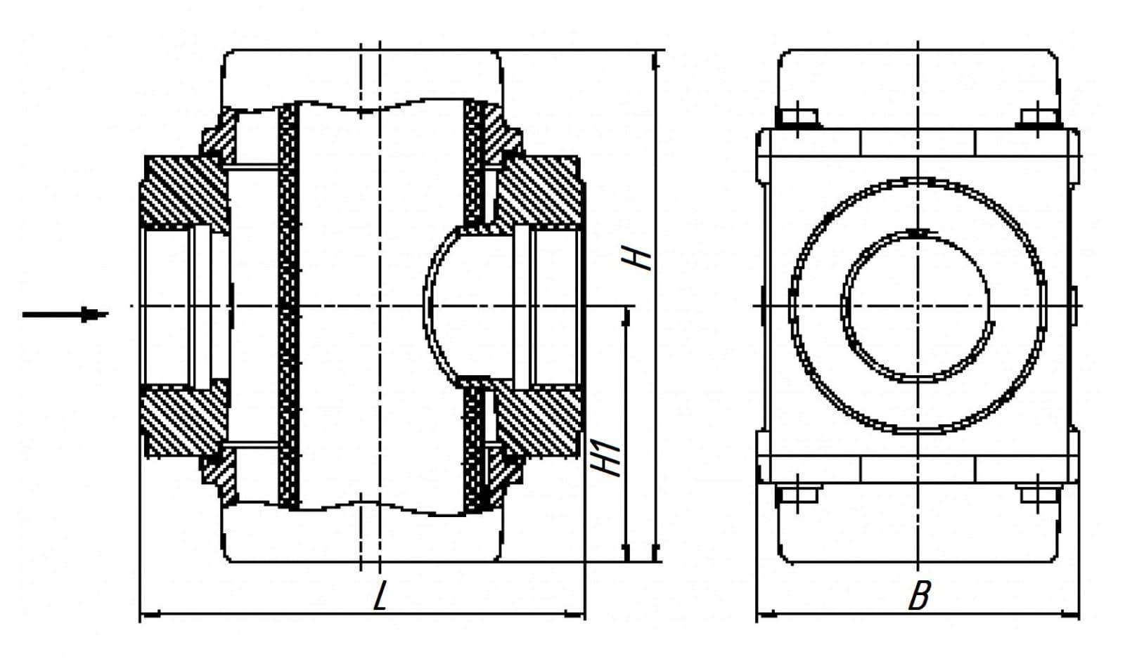 Газовый Фильтр ФН 2-2