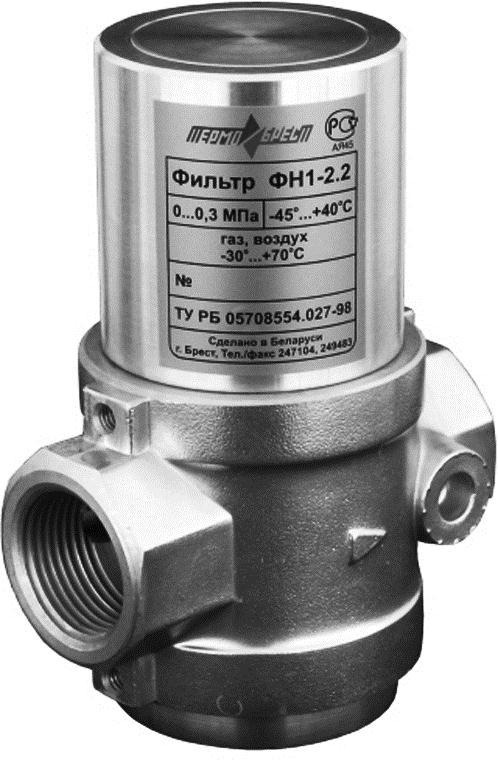Регулятор давления газа РС2 1/2-0,5