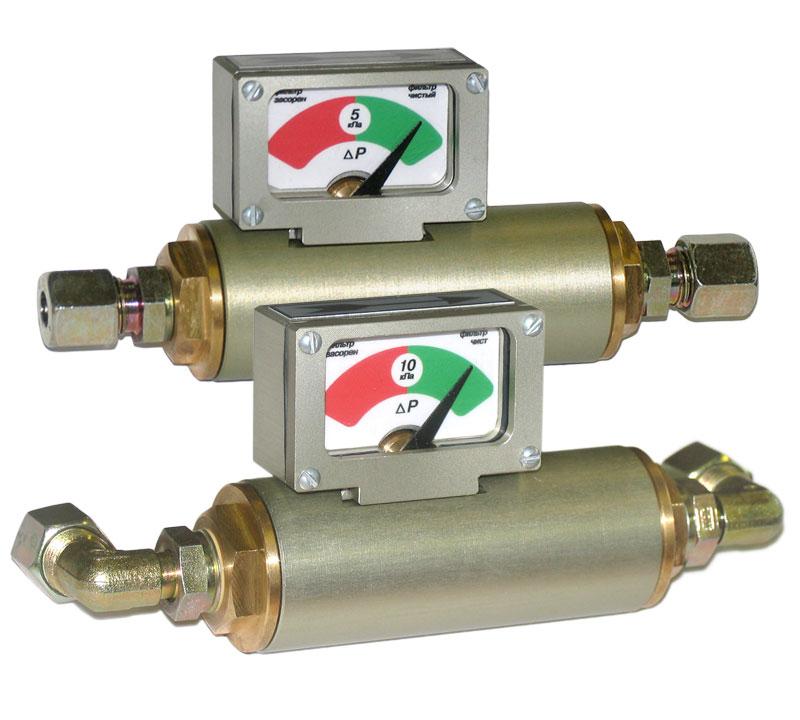 Газовые индикаторы перепада давления