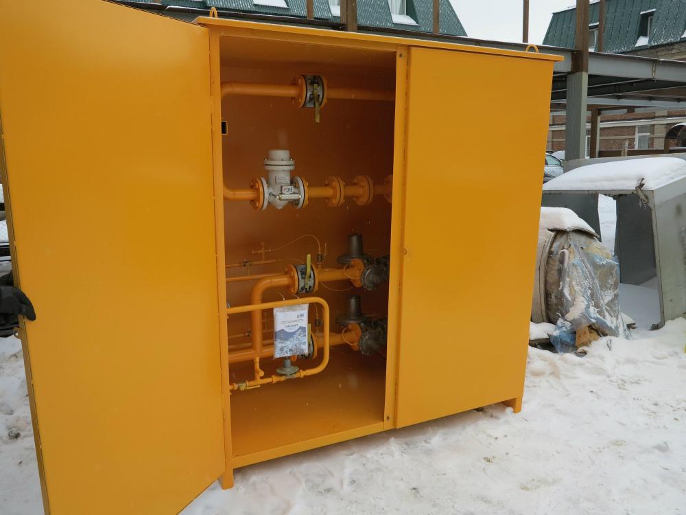 Газорегуляторный пункт шкафной УГРШ-50Н