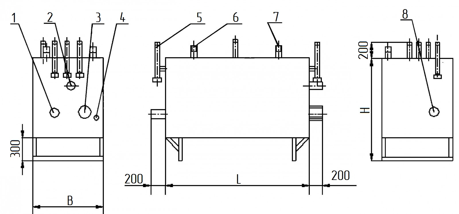 Газорегуляторная установка ГРУ-13-2НВ-ПУ1, ГРУ-15-2НВ-ПУ1, ГРУ-16-2НВ-ПУ1