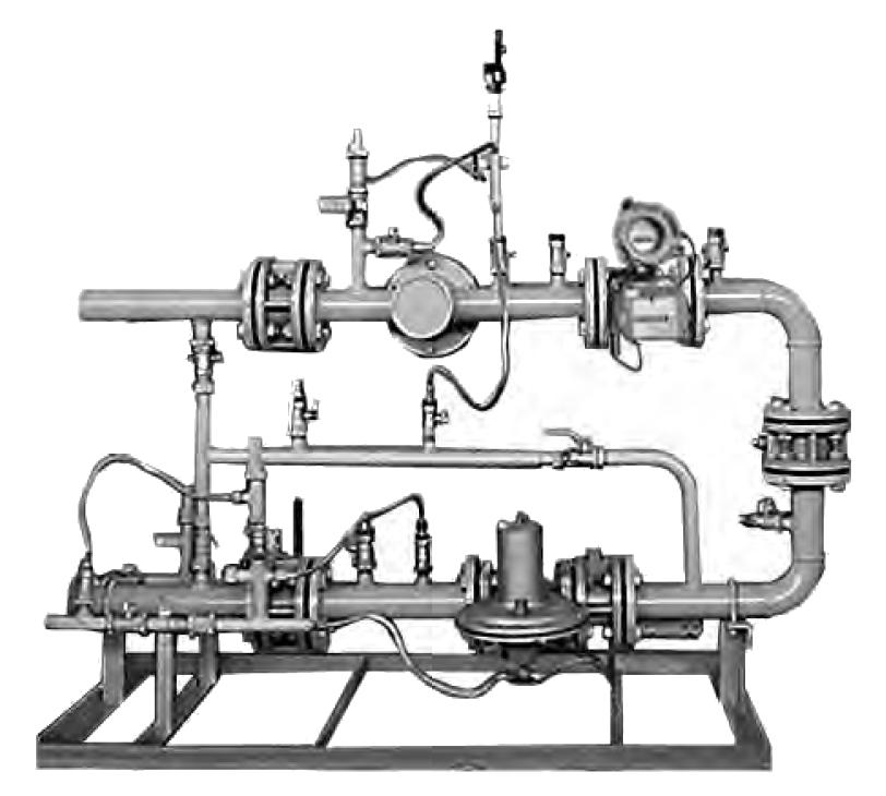 Установка газорегуляторная шкафная с узлом учета УГРШ-50Н-ЭК, УГРШ-50В-ЭК