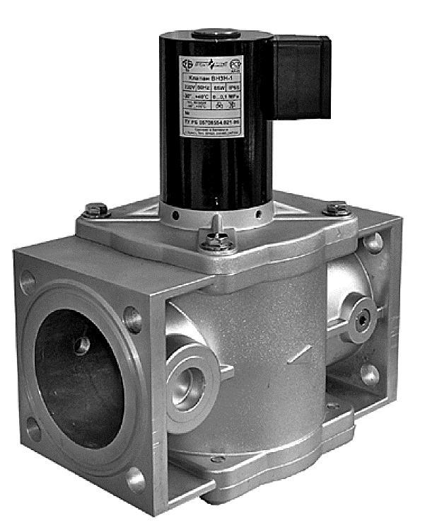 Клапан ВН 11/4Н-3Е Фланцевый