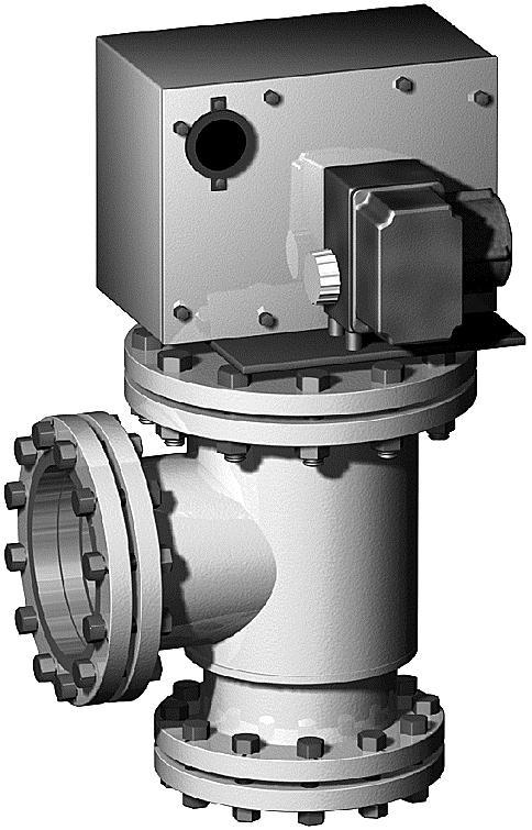 КПЗ-600 клапан предохранительный запорный Ду600