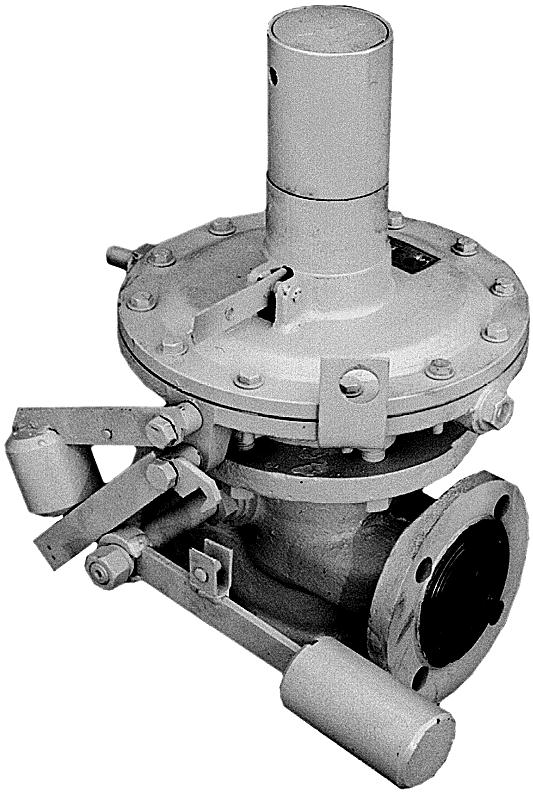 КПЗ-200 клапан предохранительный запорный Ду200