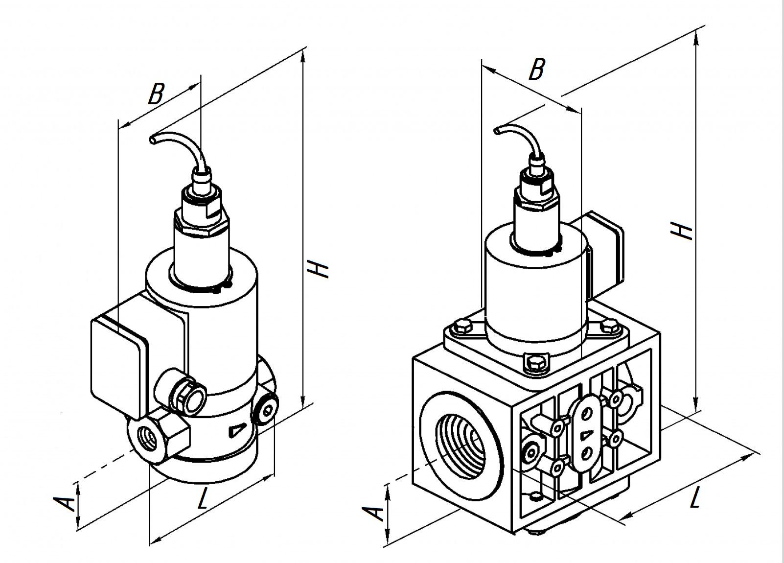 Клапан ВН 1Н-6П муф.