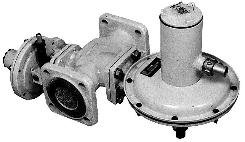Регулятор давления газа комбинированный РДНК-50П/400(Б)