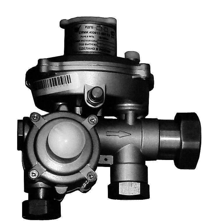 Регулятор давления газа РДГБ-25