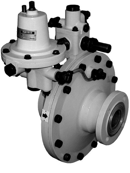 Регуляторы давления газа РДП-50-100-200-Н(В)