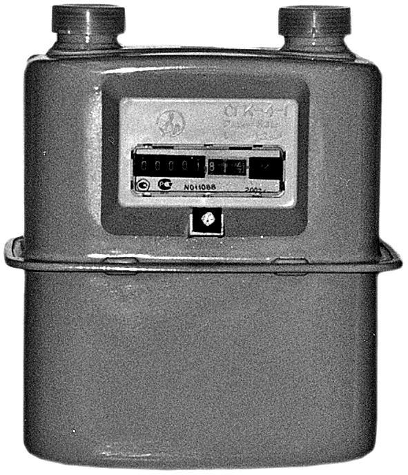 Счетчик газа СГК-4-1