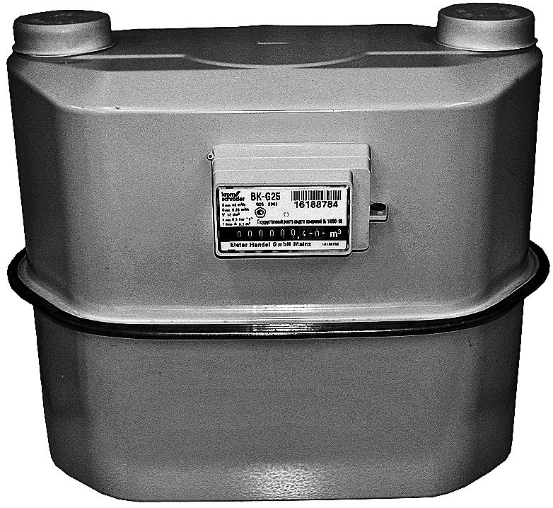Счетчики газа коммунально-бытовые BK-G6 (Т)