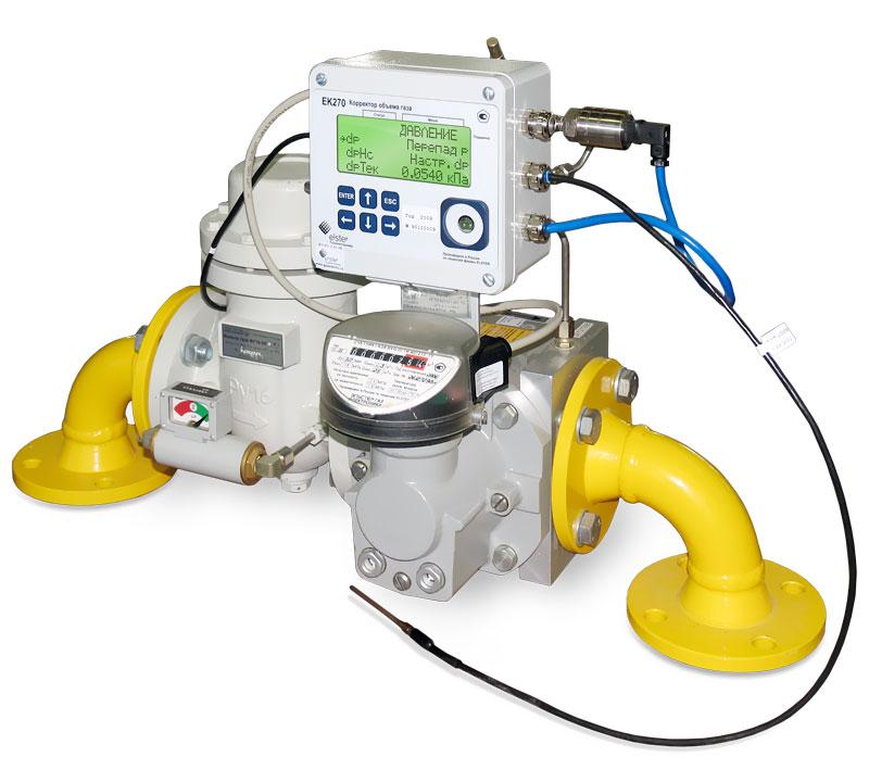 Комплекс для измерения количества газа СГ-ЭК-Т-160/1,6 TRZ G100
