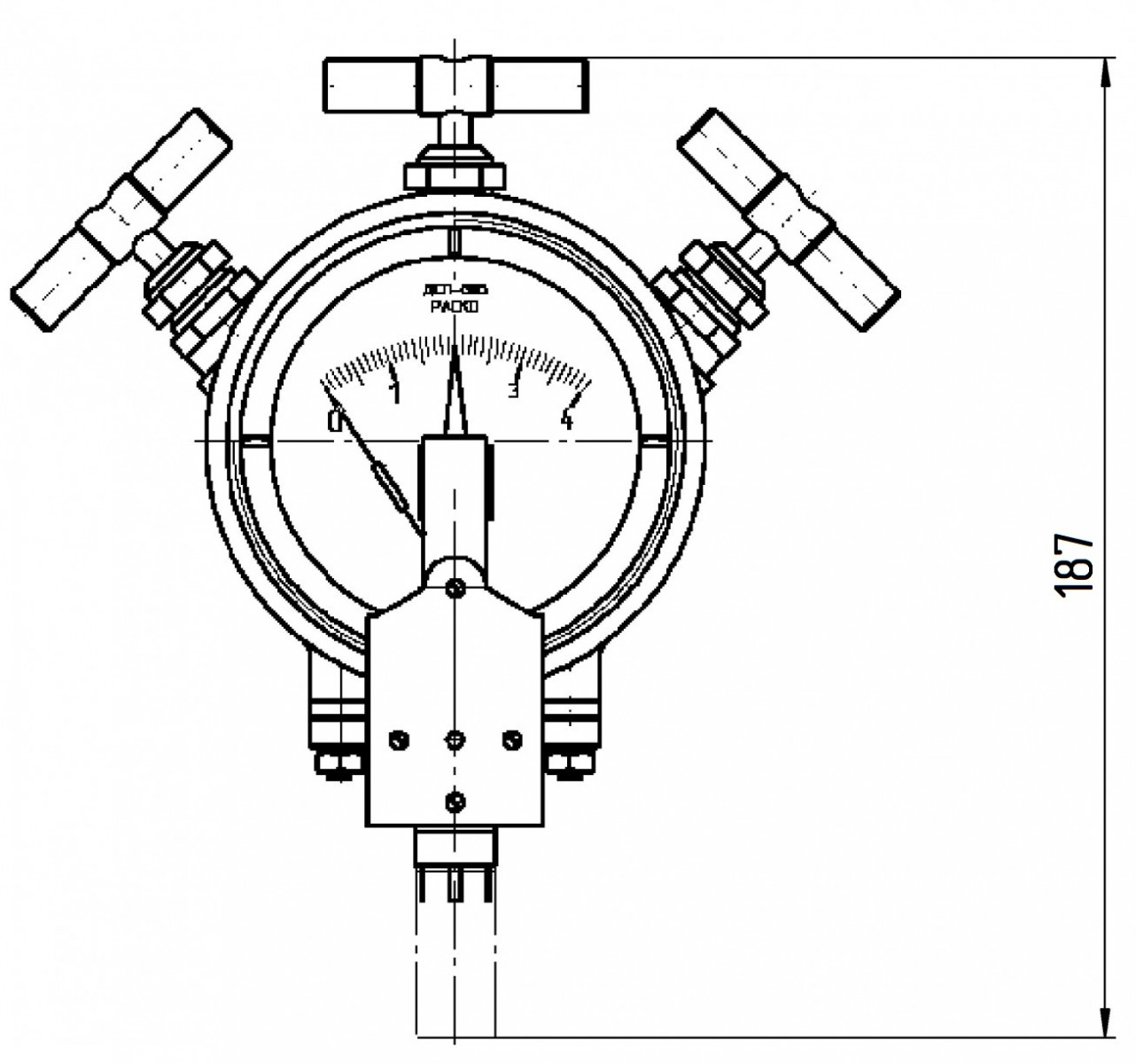 Регулятор К.РУ.05.91.10.00-0-01