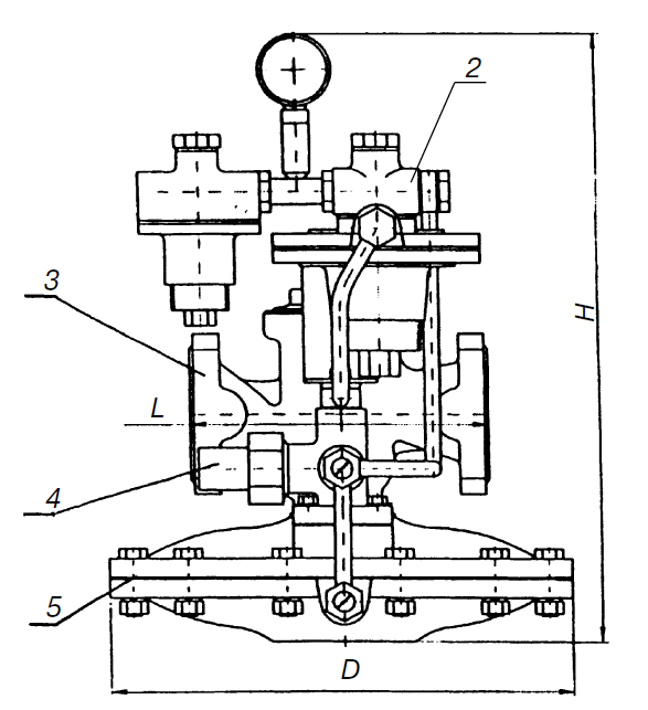 Дроссель регулируемый РДБК-1-25
