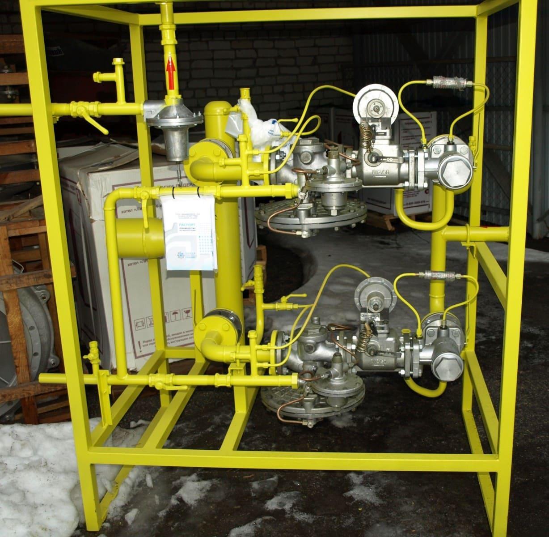 газовый регулятор грпш 1