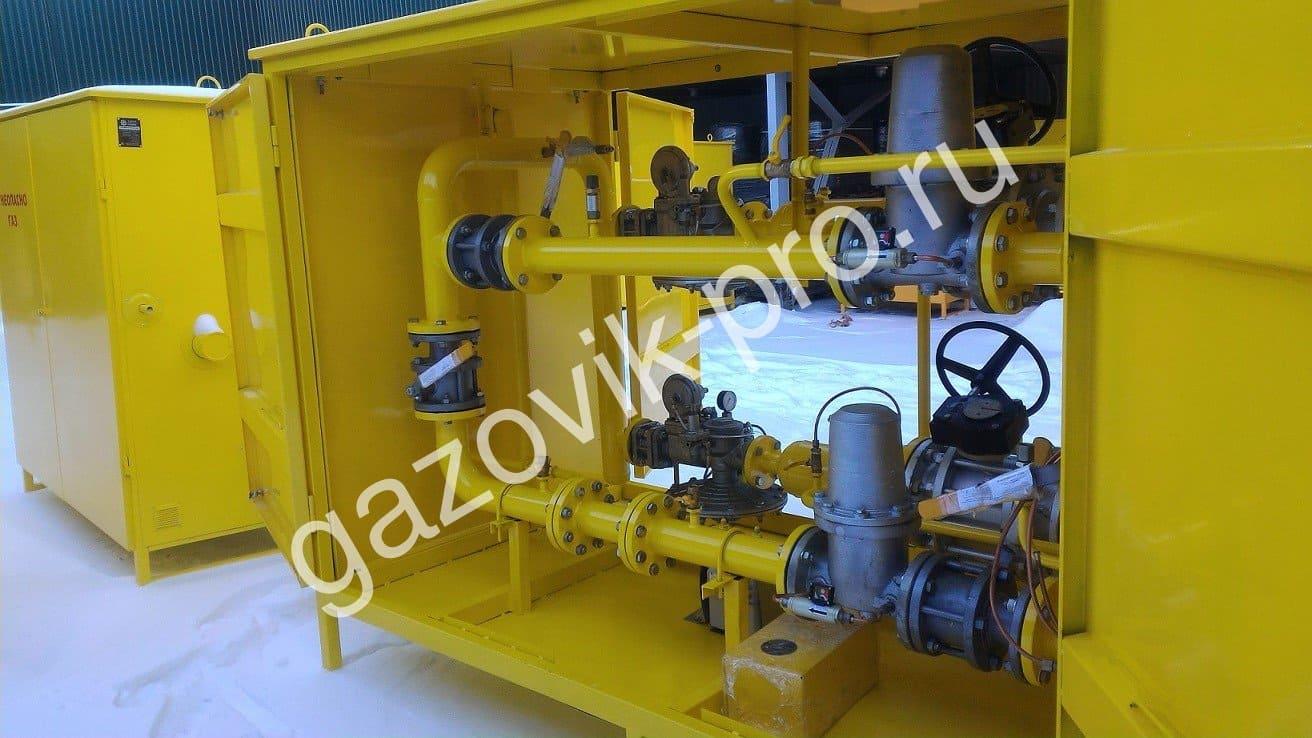 ГРПШ-1В-2В с газовым обогревом.
